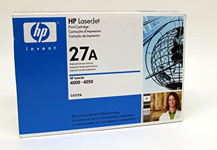 HP - C4127A (Hp 27A) Toner, 6000 Page-Yield, Black by HP (English Manual)