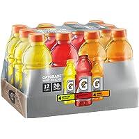 12-Pack Gatorade Original Thirst Quencher Variety Pack, 20 Ounce Bottles