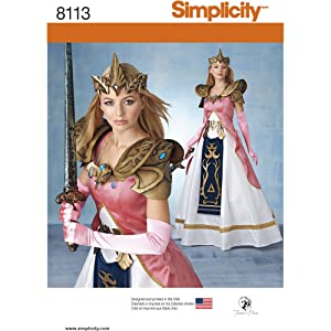 Warrior Queen Costume Pattern