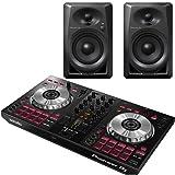 Pioneer DJ DDJ-SB3 DJ Controller & DM-40 Monitors