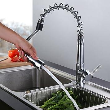 Cmyk robinet mitigeur de cuisine avec douchette les for Les robinets de cuisine