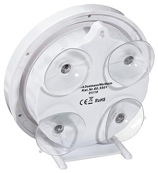 Tfa 60 3501 Funk Badezimmeruhr Mit Temperaturanzeige Funkuhr Mit