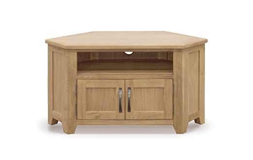 Wilkinson Muebles Klara esquina mueble para TV, marrón, 31x 15x 19,5pulgadas