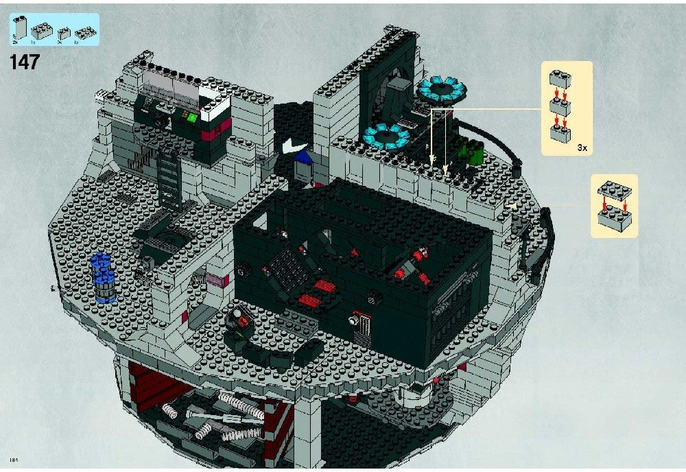 Image Gallery Lego Death Star Instructions