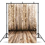 SJOLOON 5x7ft Vinyl Photography Background Nostalgia Wood Floor Rustic Photography Backdrop Baby Photo Studio Props JLT10359 (Color: 10359, Tamaño: 5x7)