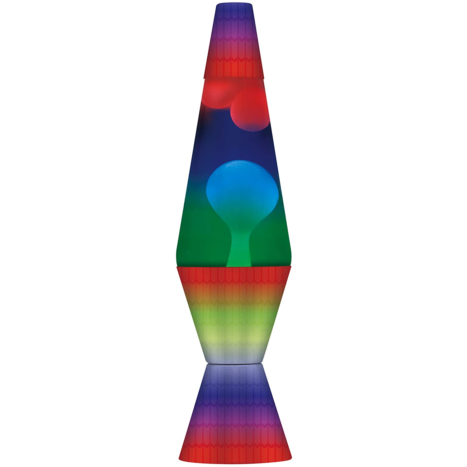 Details about ORIGINAL New Lava Lite 2140 Rainbow Print Lava Lamp with ...