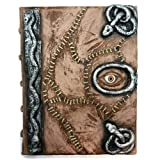 Hocus Pocus Book of Spells Prop - spellbook Halloween Decoration Latex Necronomicon Costume Notebook Journal (Tamaño: 8.5-x-11-Inch)