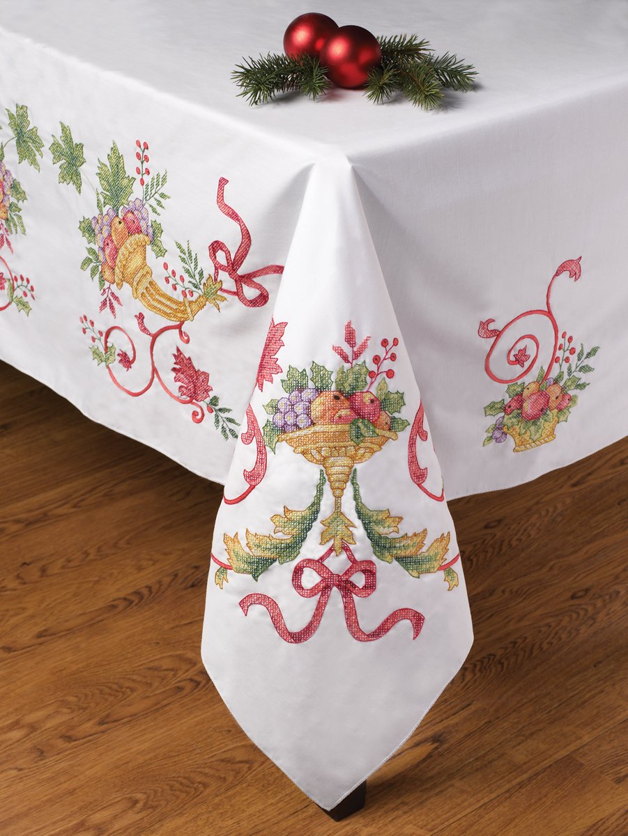 Holiday Cornucopia Tablecloth