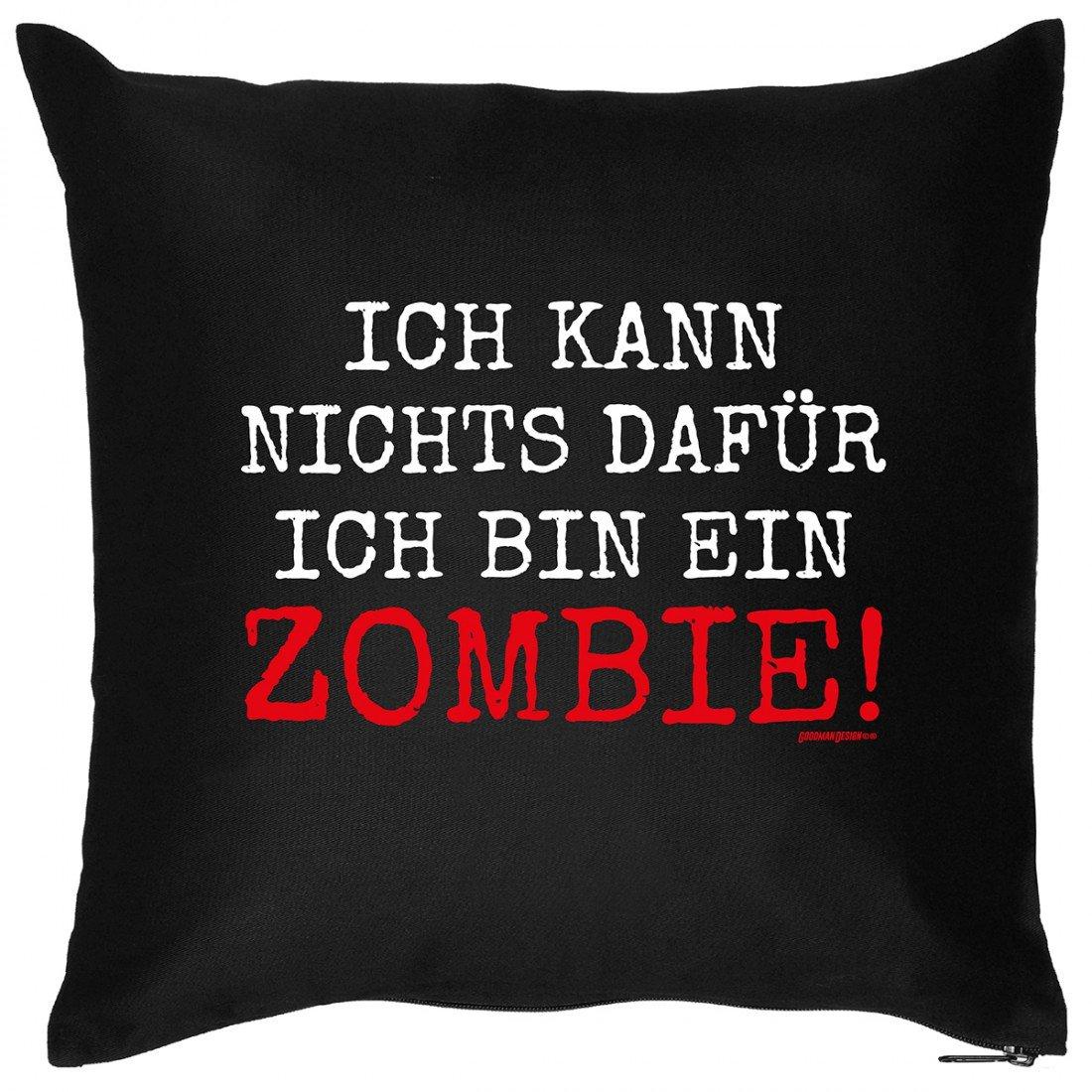Kissen Sofakissen mit Aufdruck – Ich bin ein Zombie – Horror Monster Halloween Geschenk – Wendekissen online kaufen