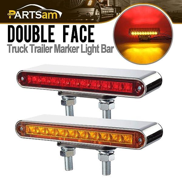 AMBER Sealed Truck LED Marker Clearance Light AMBER