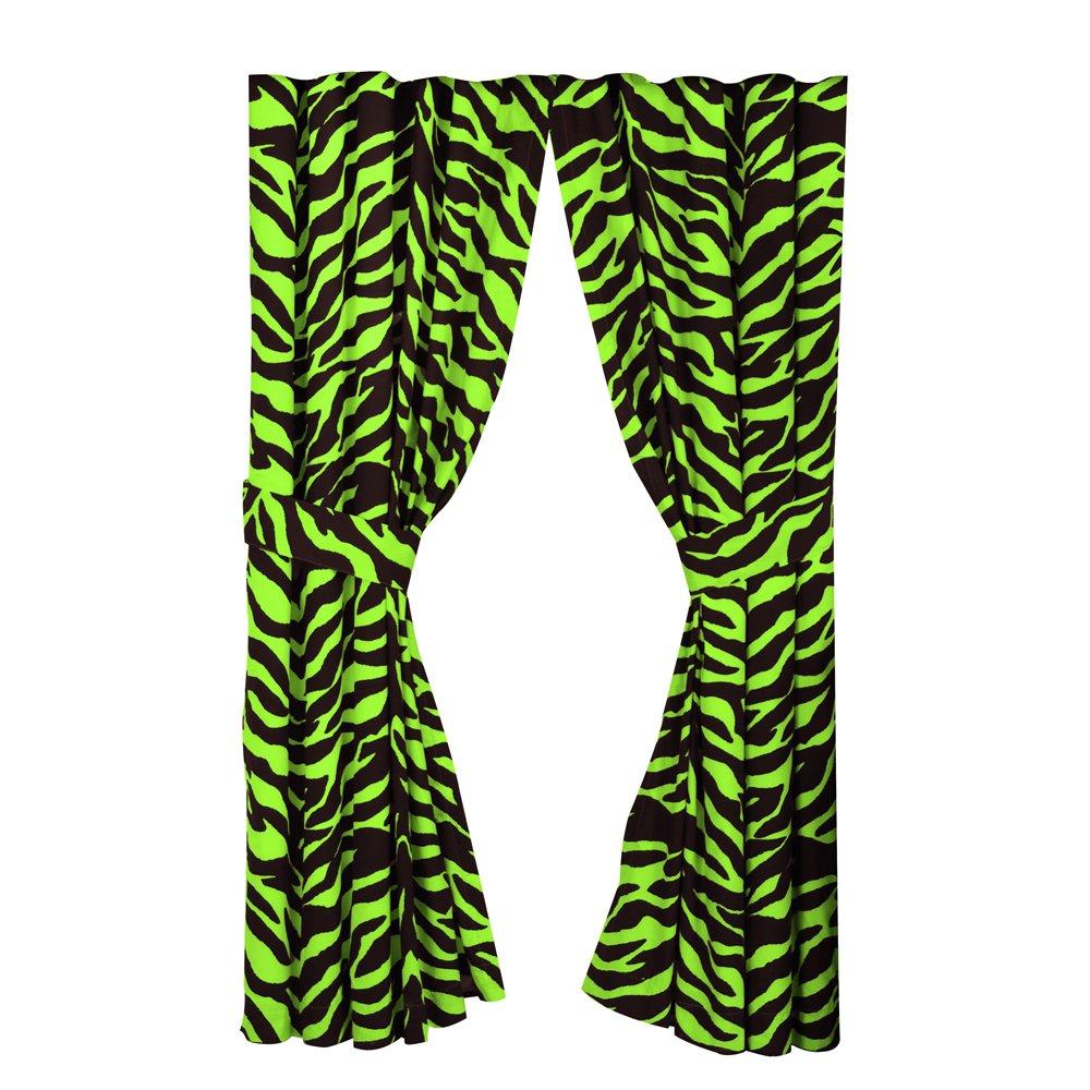 Green Zebra Print Lime Green Zebra Beddi...
