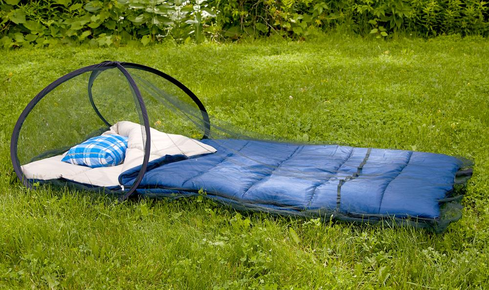 Carey Mosquito Net - Insect Shield Pop-Up Sleep Screen Dome Net