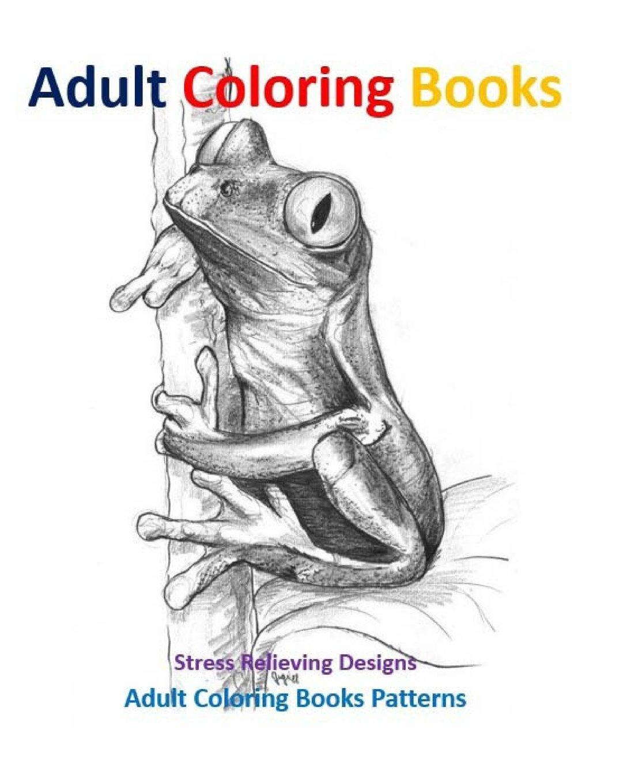 Adult Coloring Books: Aquatic Animals Stress Relief Designs