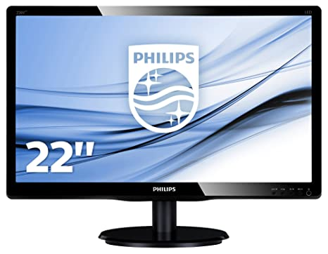 "Philips 226V4LAB/00 Ecran PC LCD 21,5"" (53,75 cm) 1920 x 1080 Noir"