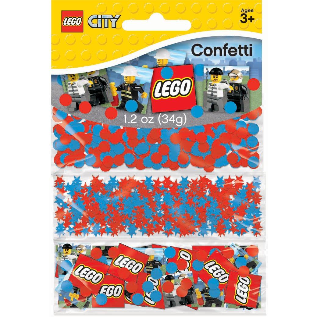 Amscan 222169 Lego City Confetti Party Decor günstig online kaufen
