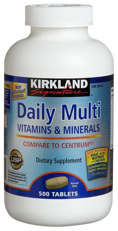 Kirkland Signature Daily Multi Vitamins & Minerals