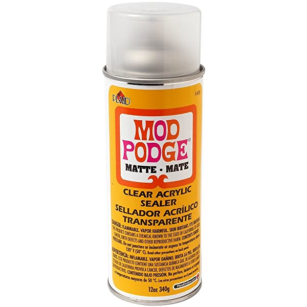 Mod Podge Clear Acrylic Sealer (12-Ounce), 1469 Matte 2 Pack (Color: Matte, Tamaño: 2-12 oz.)