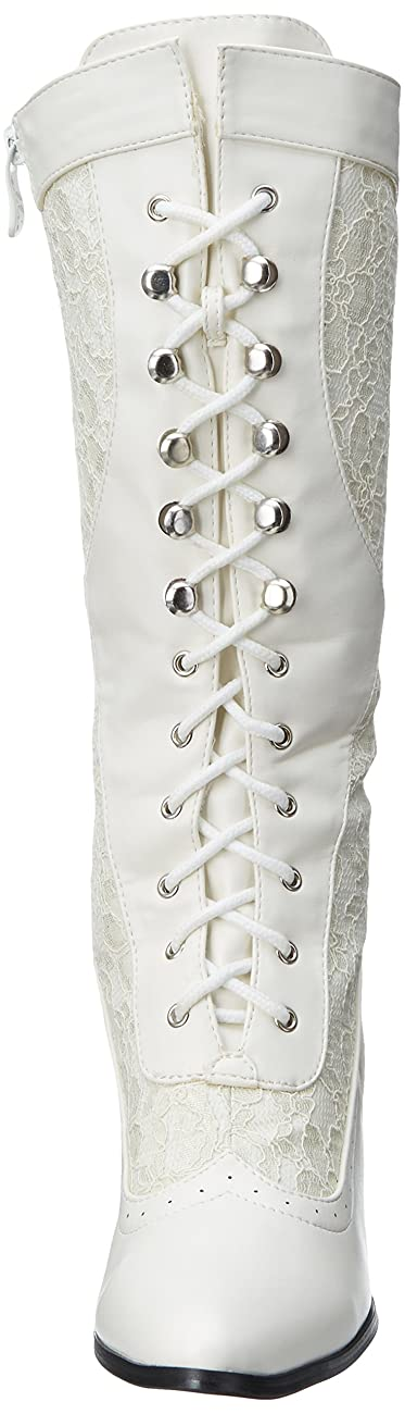 Ellie Shoes Women's 253-Rebecca Lace Heel Boot 1