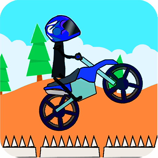 Doodle Stick Bike Racing 2 (a BMX stickman stunt game) (Panic Cycles compare prices)