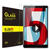 IVSO Screen Protector for Huawei MediaPad M5 8.4 Tablet, [Scratch-Resistant] [No-Bubble ] 9H Hardness HD Clear Tempered Glass for Huawei MediaPad M5 8.4 Tablet (Color: Clear)