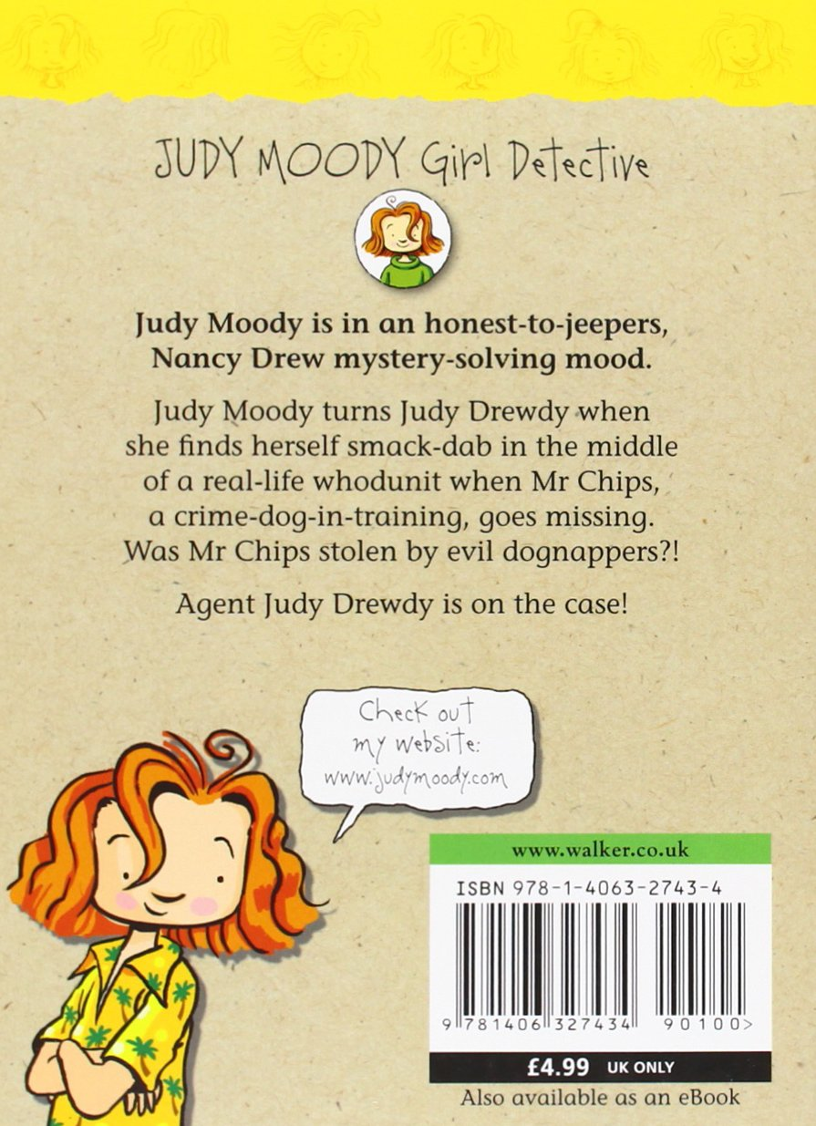 judy moody girl detective book report In judy moody: girl detective, judy wants to be like nancy judy moody, girl detective (book #9 blog - information for publishers - report an issue - help.