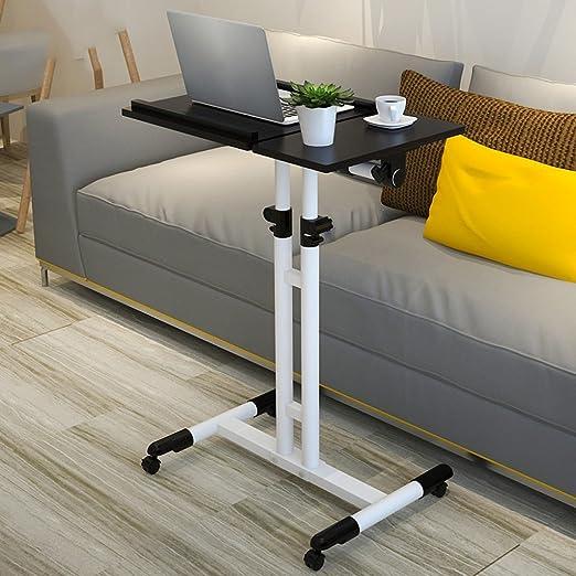 Ali Escritorio de ordenador portátil Aprendizaje Home Lift Plegable plegable mesa de cabecera ( Color : Black walnut )
