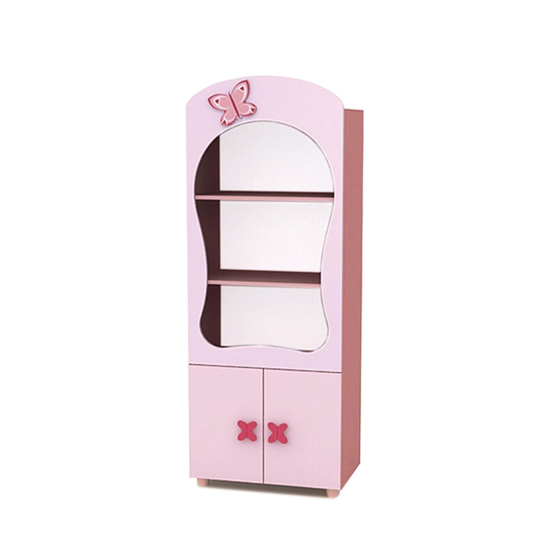 Regal Bücherregal Stehregal Kinderregal CINDI 75x42x169cm rosa R-75