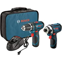 Bosch 12-Volt Lithium-Ion 2-Tool Combo Kit