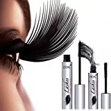 4D Mascara Suit DDK Silk Fiber Lash Mascara Eyelashes Long Extension 100% Authentic (Color: Black)