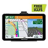 GPS Navigation for Car, NAVRUF 7 inch 8GB&256MB GPS Navigation System,Spoken Turn- to-Turn Traffic Alert Vehicle Car GPS Navigator,Lifetime Free Map Updates (Color: gray, Tamaño: 7inch)