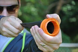The Pocket Shot (Color: Orange/black)