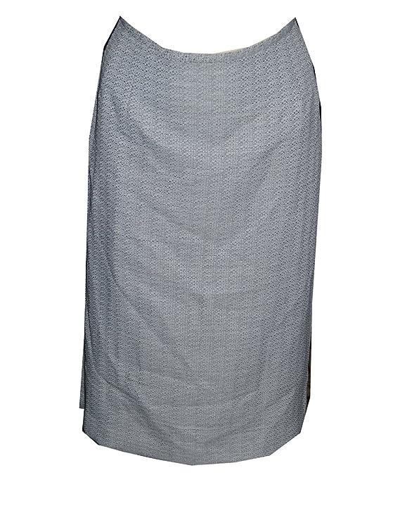 Evan Picone Silver Multi Tweed Skirt