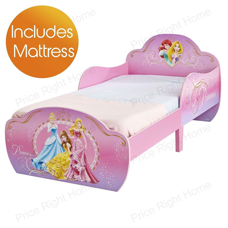 Disney Princess Kleinkind snuggletime Bett + Deluxe Foam Matratze