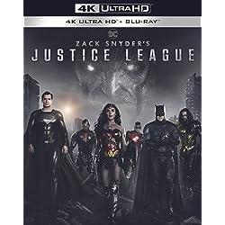 Zack Snyder's Justice League [4K Ultra HD + Blu-ray]