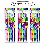 Ooly Presto Chango Crayons - Set of 18 (3 Packs of 6)