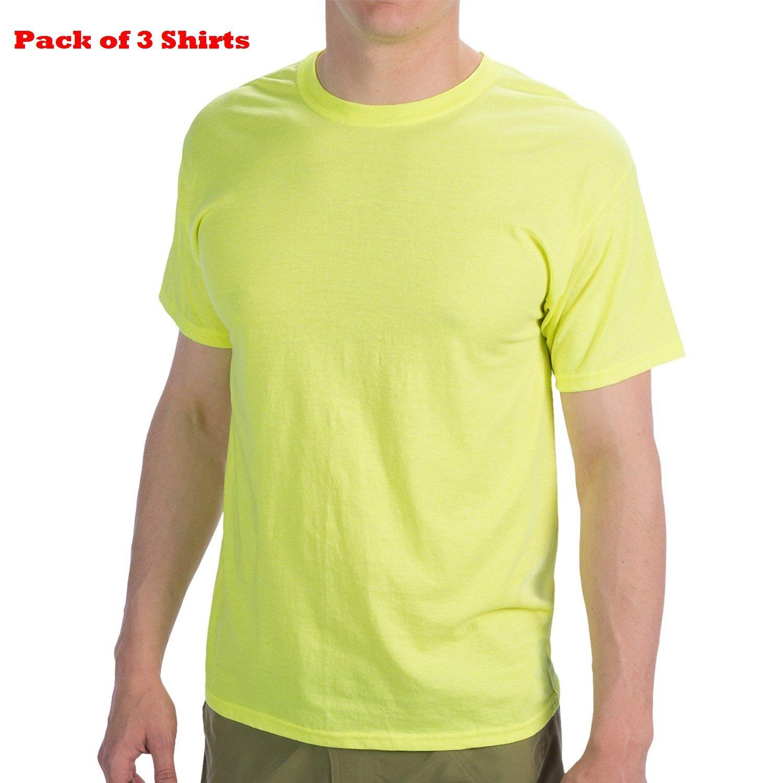 5f420b996801 Hanes Men's Classics 6 Pack Crew Neck Tee at Amazon Men's Clothing store