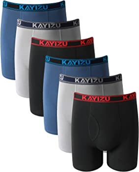 Kayizu Mens Ultimate Cotton Boxer