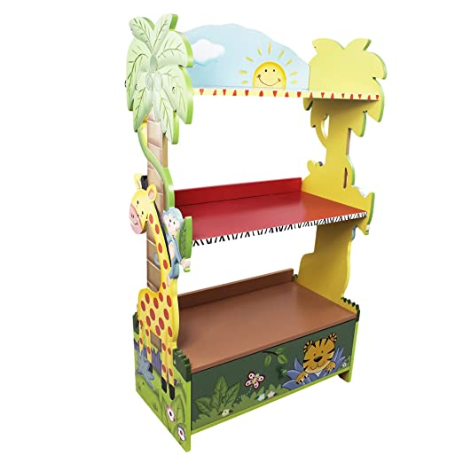 Primary Products Ltd Bibliothèque Sunny Safari Multicolore