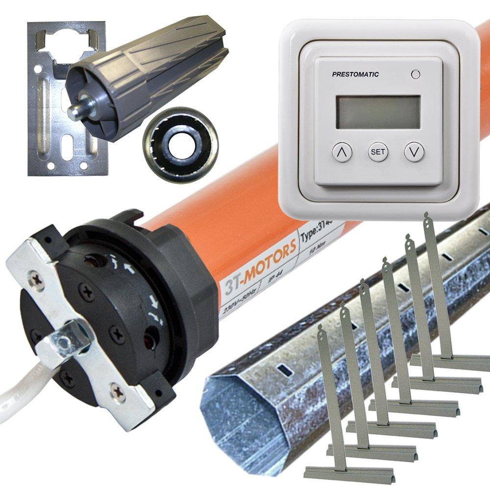 Rolladenmotor 3TMOTORS Komplettset SW60 + Zeitschaltuhr + Rolladenwelle + Zubehör 3T4520 SW60 bis 2,50m  BaumarktKritiken und weitere Informationen
