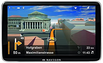 Navigon 92 Premium GPS Europe Ecran 5'' (12,7 cm) 4 Go Premium édition