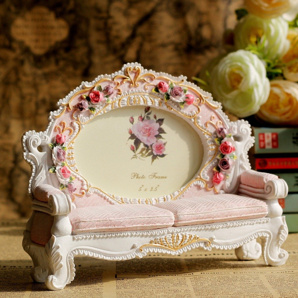 Giftgarden Roses Frames 3.5x5 Photo Sofa Picture Frame 5 by 3.5 Inch 2