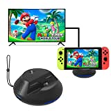 J&TOP Portable Charge TV Dock for Nintendo Switch,Replacement Dock with Electronic Chip for Nintendo Switch (Color: Portable Dock, Tamaño: Portable Dock)