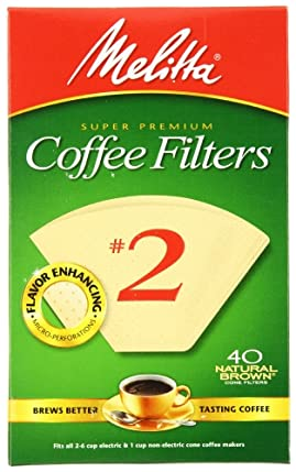 Melitta Cone Coffee Filters, Natural Brown, No. 2, 40-Count Filters (Pack of 12) at Sears.com