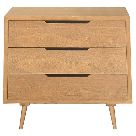 OFERTA CANTIDAD LIMITADA Charles Bentley Inicio Skandi cajón Conjunto de almacenamiento plana Unidad de muebles de madera de pic Assmbly
