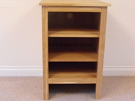 Oak HiFi unit, stand or cabinet, 580x800mm, 2 shelf, great for the Living room or Conservatory