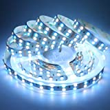 LEDENET 16.4FT Double Row SMD 5050 RGBW Color Changing Flexible LED Strip DC 24V 5M 600LEDs Non-Waterproof RGB White LED Ribbon Tape Lamp (RGBW LED Strip) (Color: RGB+Cold White, Tamaño: Non-waterproof)