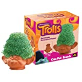 Chia Pet Branch, DreamWorks Trolls, Decorative Pottery Planter, Easy to Do and Fun to Grow, Novelty Gift, Perfect for Any Occasion