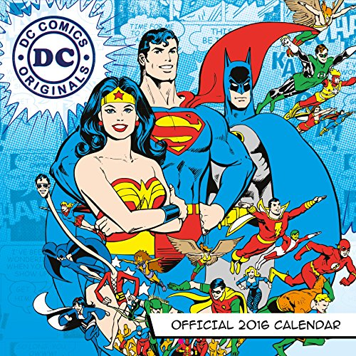The Official DC Comics 2016 Square Calendar (Calendar 2016)