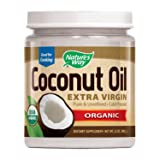 Nature's Way Organic Extra Virgin Coconut Oil- Pure, Cold-pressed, Organic, Non-GMO, Gluten-free- 32 Ounce (Tamaño: 32.0 ounces)