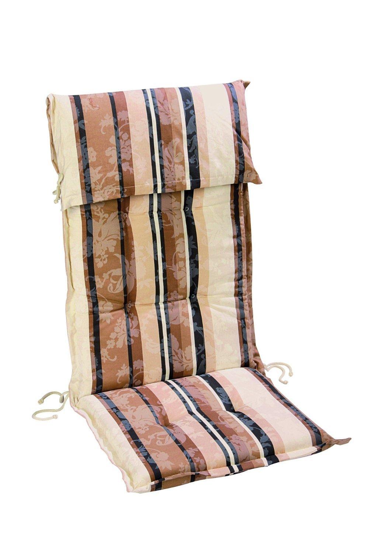 Best 01201017 Sesselauflage hoch STS 120 x 50 x 8 cm, Dessin 1017